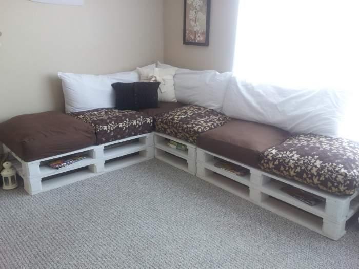 Особенности изготовления диванов своими руками, мастер-классы