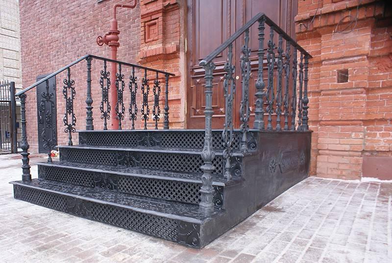 Как сделать ступеньки для крыльца - из бетона, дерева, металла, кирпича (+фото,чертежи)   стройсоветы