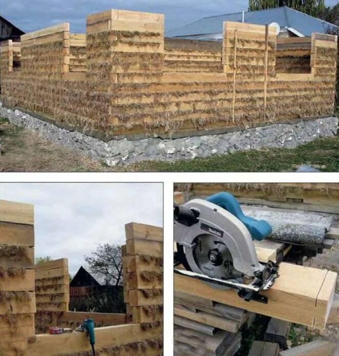 Строительство дома из бруса своими руками – пошаговое руководство