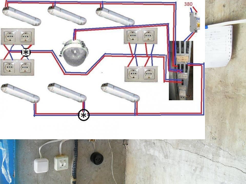 Делаем освещение в гараже - 125 фото и видео как сделать правильно хорошее освещение в гараже