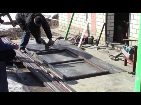 Установка входной двери своими руками: видео-инструкция
