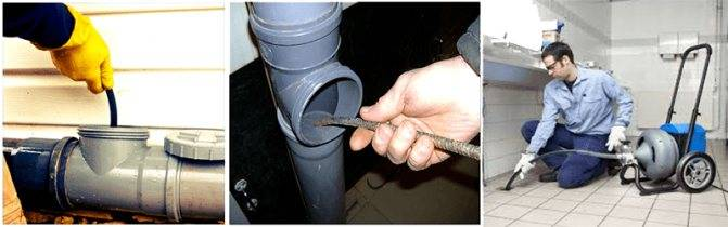 Трос для чистки труб канализации: применение, уход, изготовление своими руками