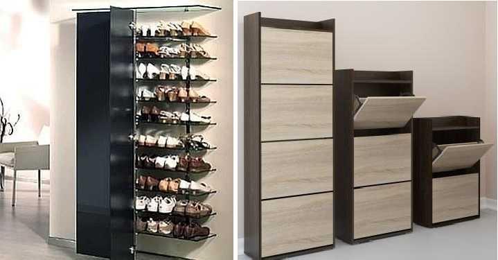Полка для обуви, разновидности и их особенности, как сделать самому