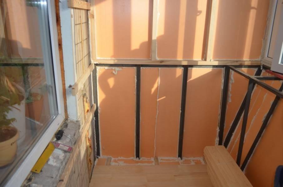Отделка балкона изнутри своими руками - клуб мастеров