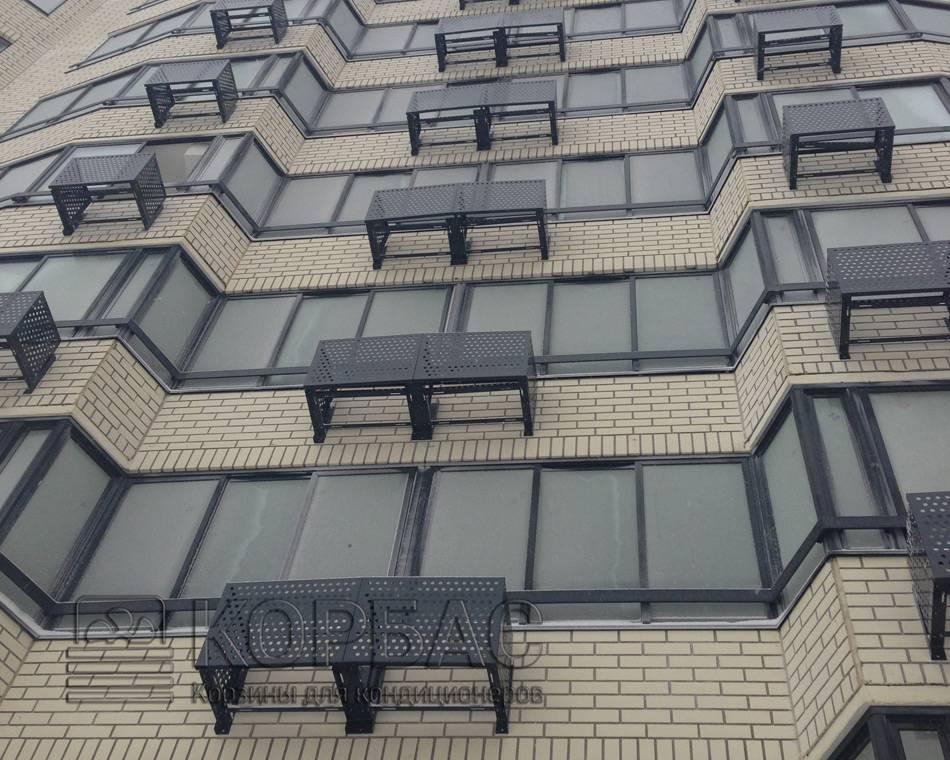 Декоративные решетки и чехлы для кондиционеров на фасад: размеры и монтаж - iqelectro.ru