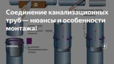 Ремонт канализационных труб в квартире – как он выполняется + видео