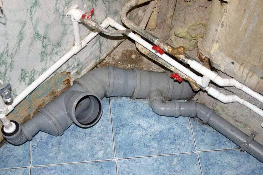 Правильное устройство канализации в многоэтажном доме