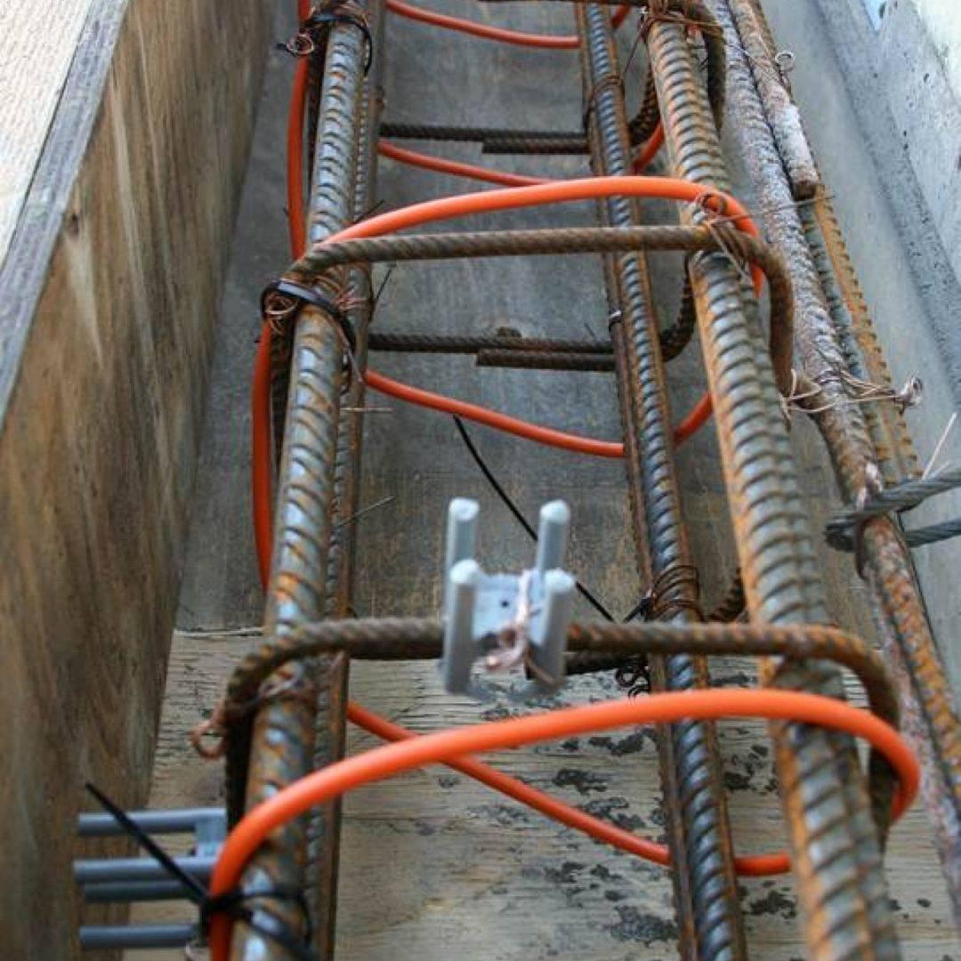 Электропрогрев бетона в зимнее время: схема укладки, характеристики провода пнсв, расчёт длины