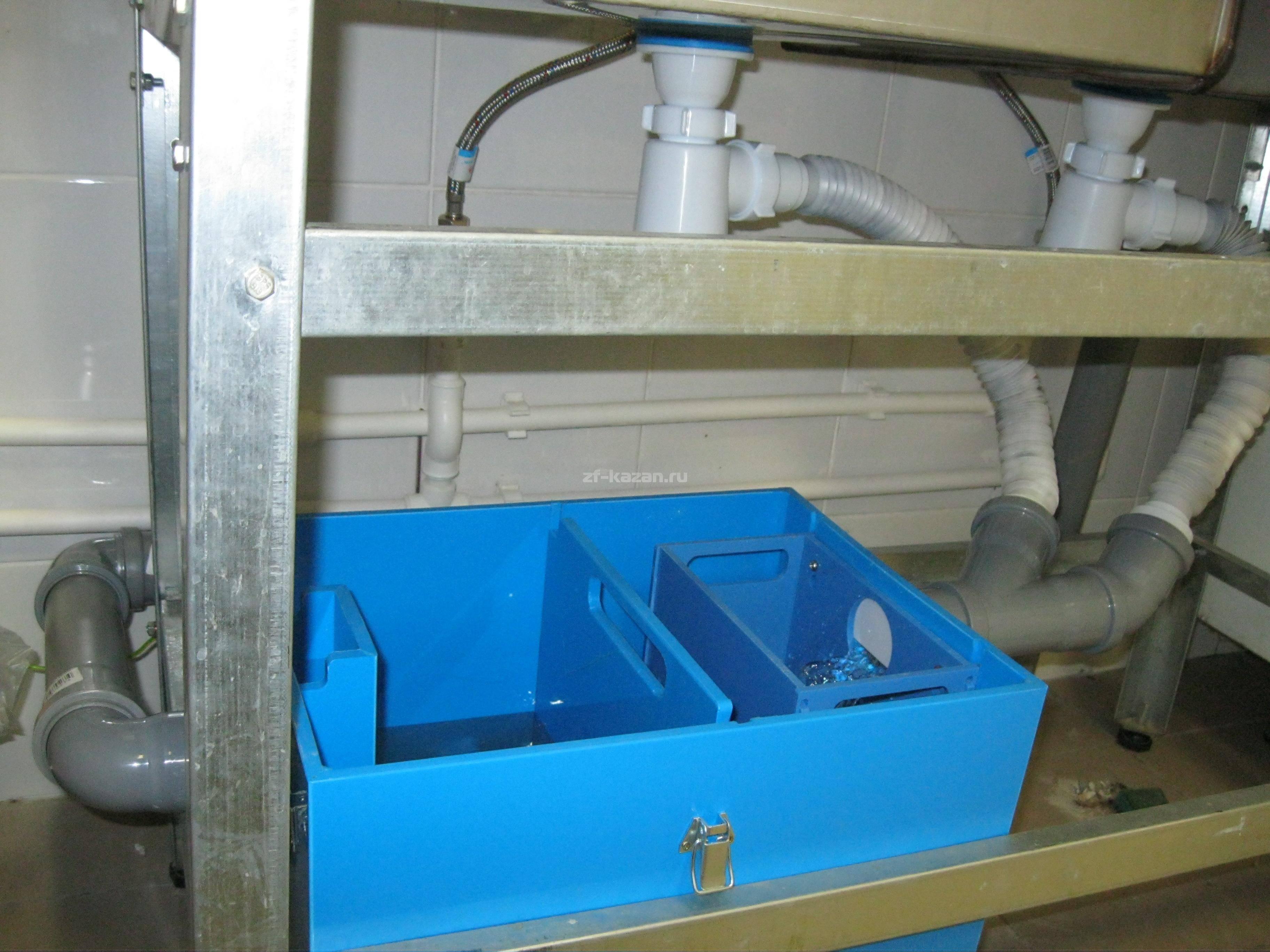 Установка жироуловителя под мойку – как выбрать и установить,  принцип работы, выбор, монтаж