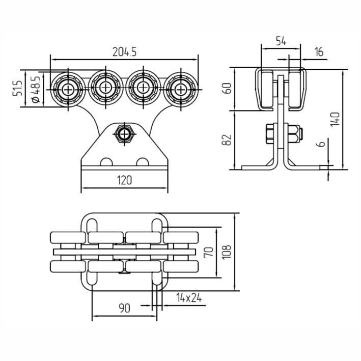 Как сделать ролики для откатных ворот: изготовление опорных конструкций своими руками, материалы и инструменты