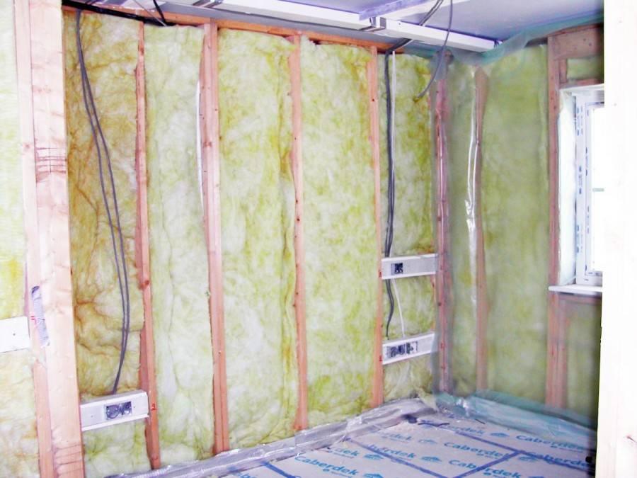 Как утеплить стену внутри квартиры: утепляем внутреннюю стену своими руками