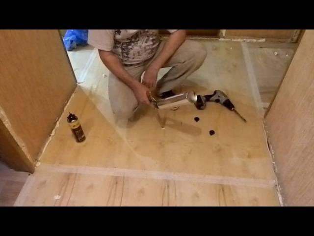 Скрипит пол в квартире: как исправить и устранить скрип