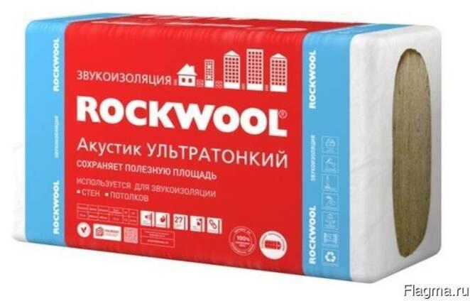 Утеплители rockwool: разновидности и их технические характеристики