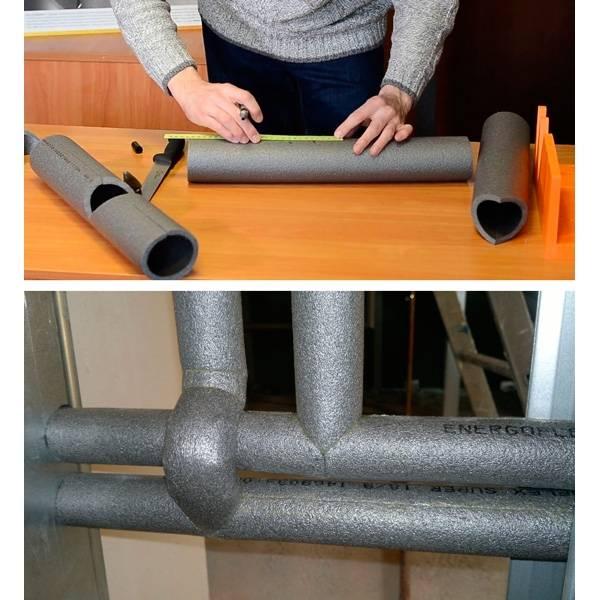 Как утеплить водопроводную трубу своими руками