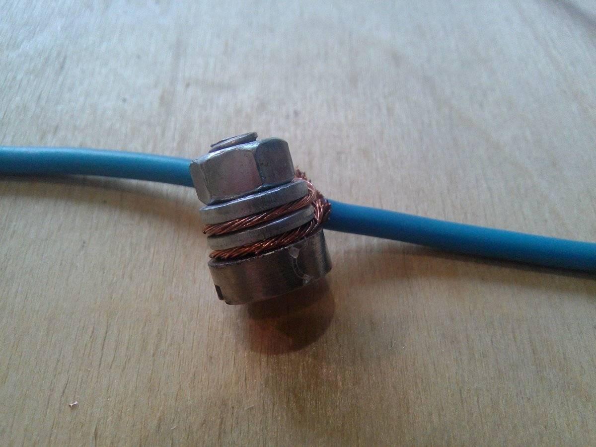 Как правильно соединять алюминиевые провода с медными в электропроводке