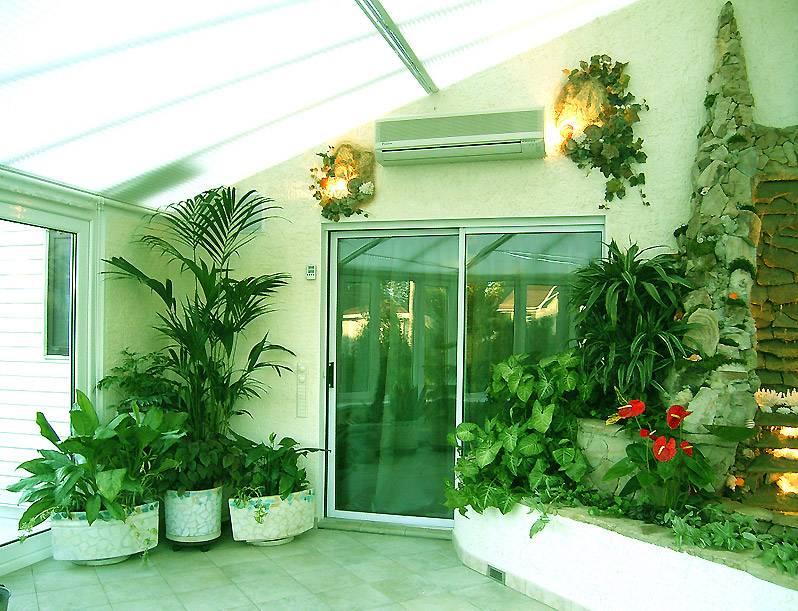 Оформление зимнего сада в доме: правила обустройства красивых и оригинальных зимних садов (100 фото)