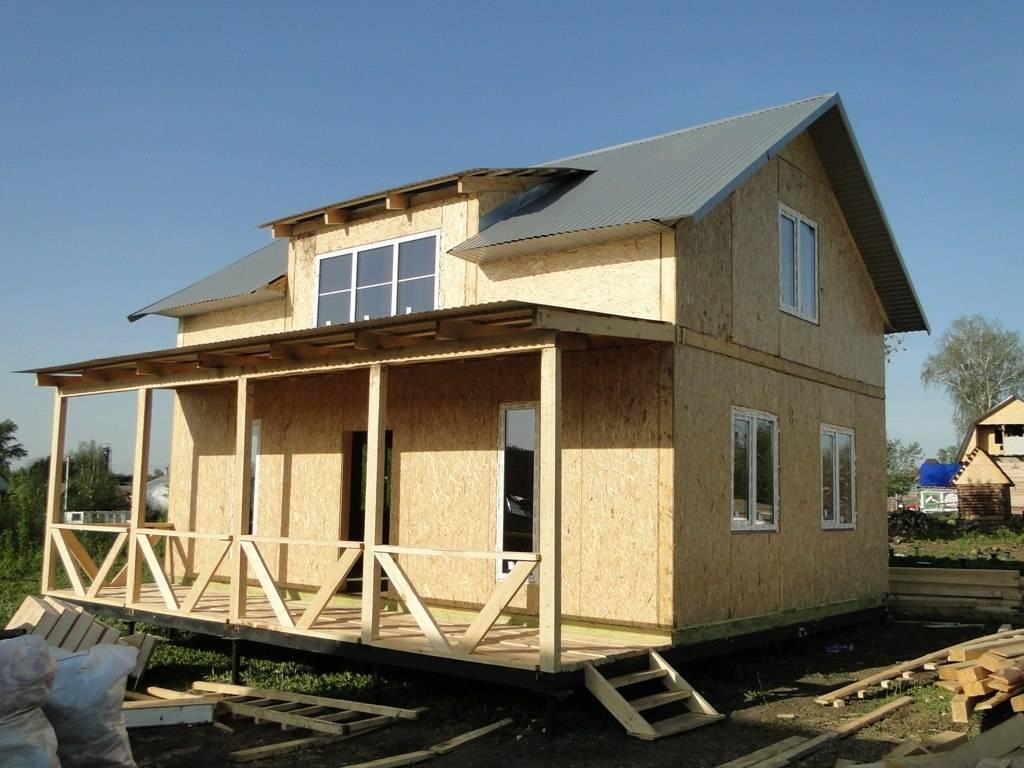 Канадская технология строительства каркасных домов: плюсы данной технологии + чертежи узлов и пошаговая инструкция