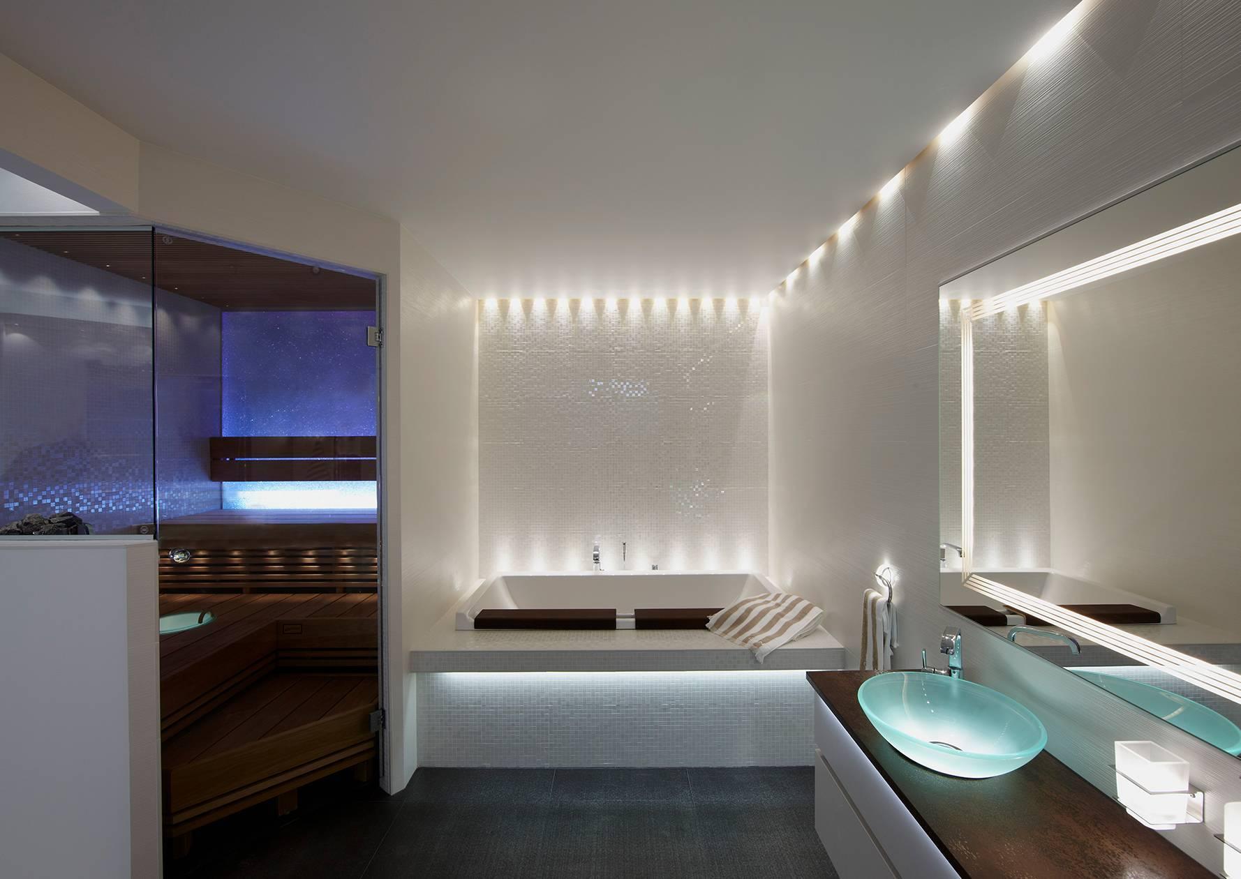 Светодиодная подсветка в интерьере квартиры: фото и советы профессионалов