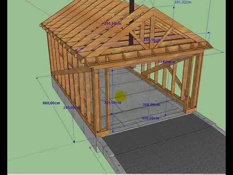 Строим гараж своими руками: поэтапное руководство с нуля, как я строю гараж
