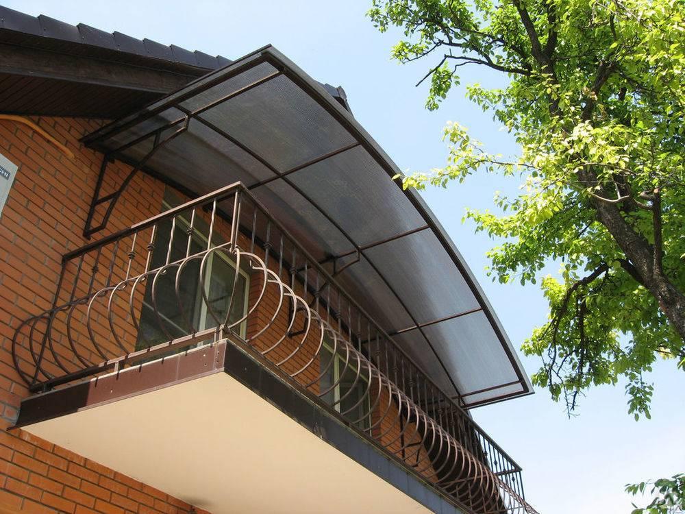 Крыша на балконе последнего этажа своими рукамистройкод