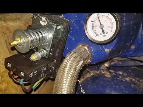 Как настроить реле давления гидроаккумулятора