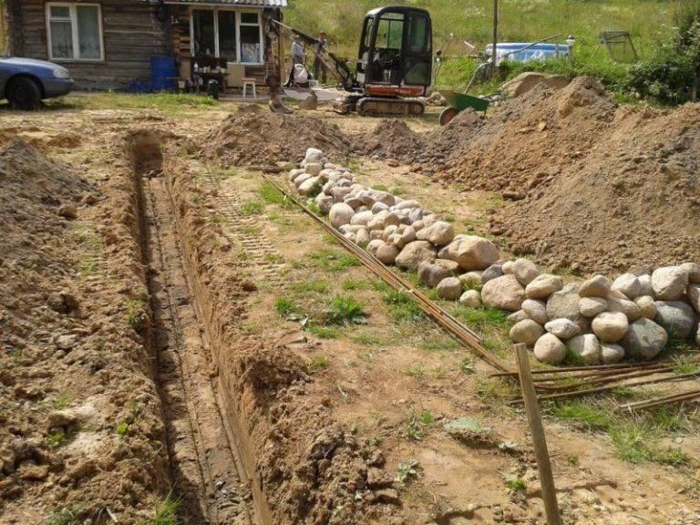 Как выкопать фундамент