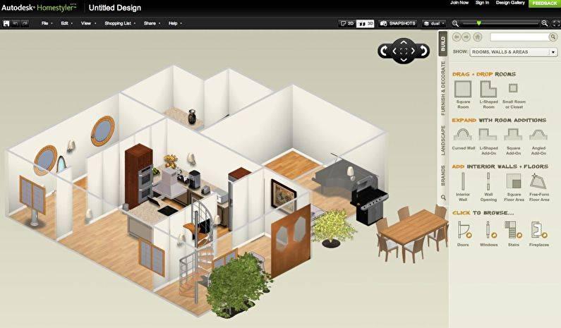 Бесплатные программы для дизайна интерьера