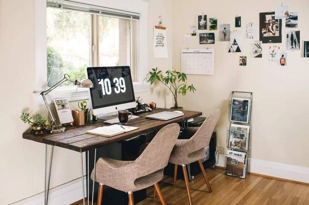 Как обустроить хоумофис, если вы никогда не работали дома: чек-лист из 5 шагов - стильный и современный дизайн интерьера для вас
