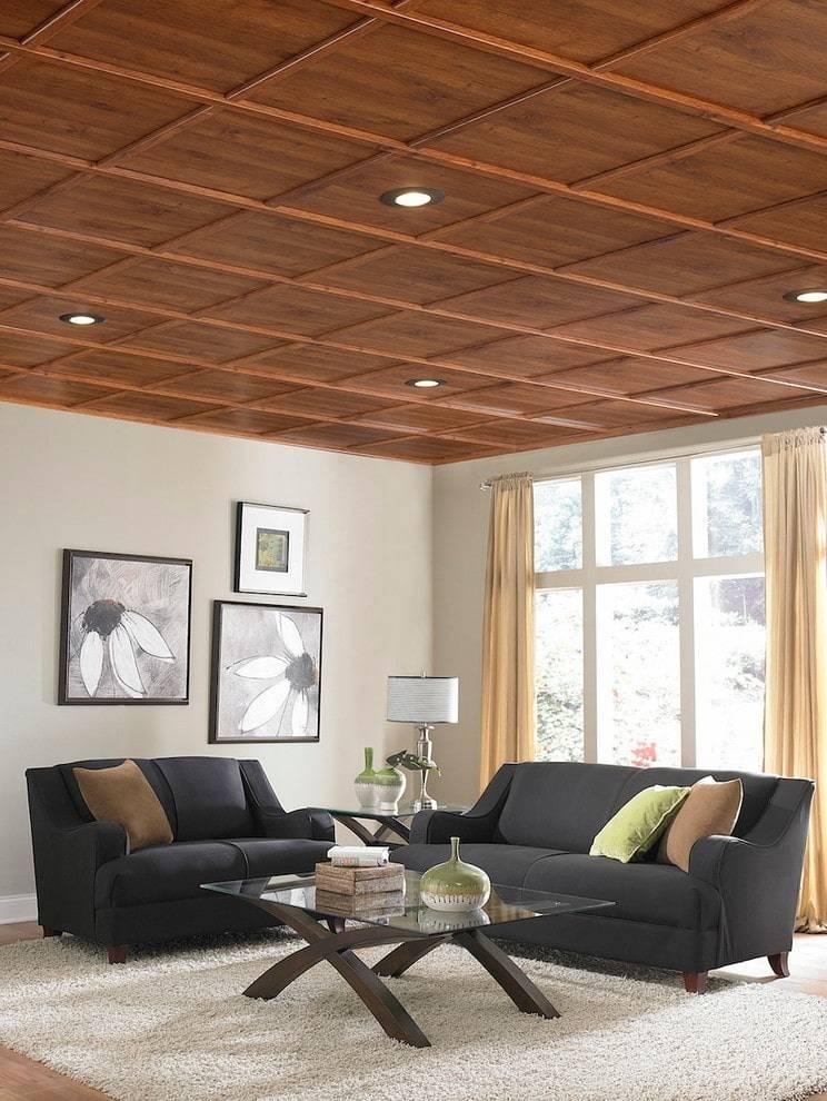 Чем отделать потолок на кухне?