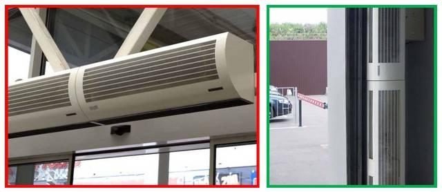 Как выбрать тепловую завесу, подбор по параметрам, полезные советы