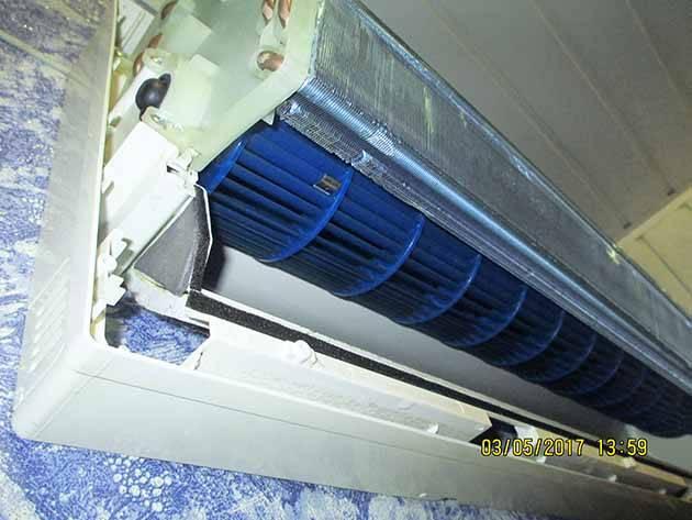 Чистка сплит-систем (38 фото): как почистить самостоятельно внутренний блок кондиционера? очистка наружного блока своими руками