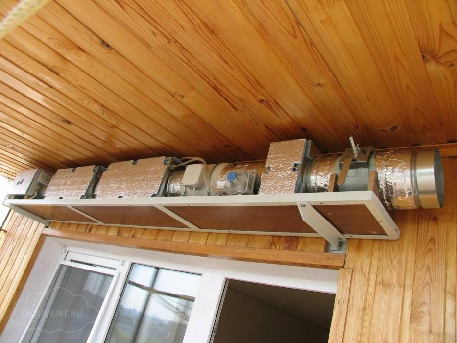 Узлы теплоснабжения вентиляционных агрегатов