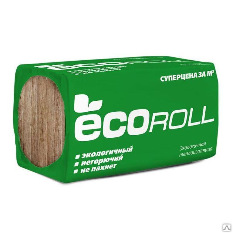 Утеплитель ecoroll – характеристики и отзывы пользователей