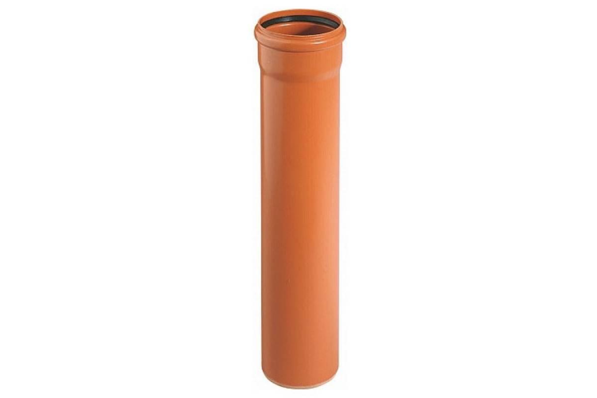 Труба канализационная серая: рыжая или оранжевая труба, размеры