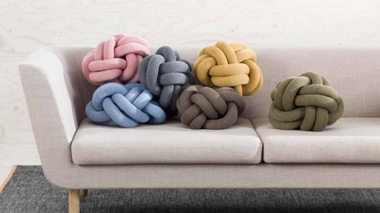 Подушка узел своими руками, подробный мастер-класс. 2 способа завязать узловые подушки.