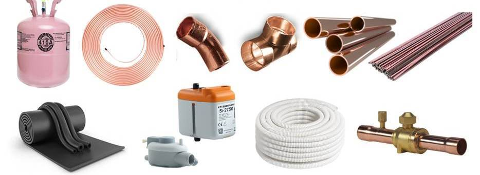 Выбор и монтаж медной трубы при установке кондиционера