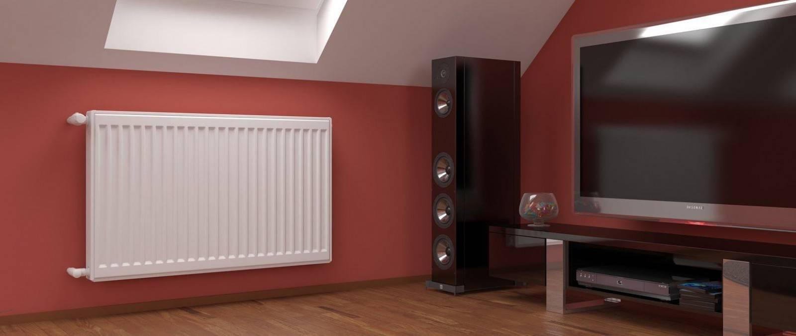 Стальные панельные радиаторы: экономно и компактно