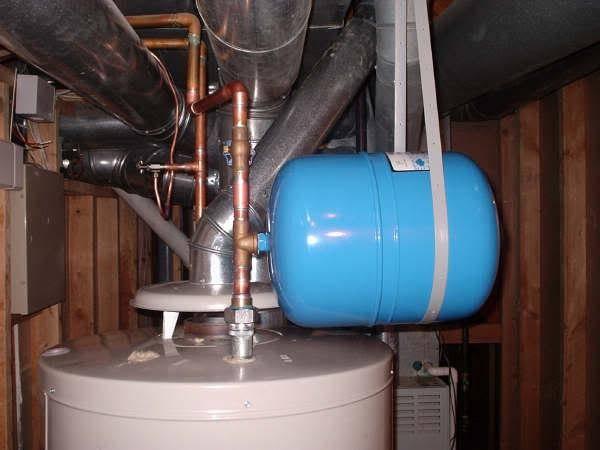 Мембранный расширительный бак для отопления и водоснабжения: принцип работы, устройство, установка