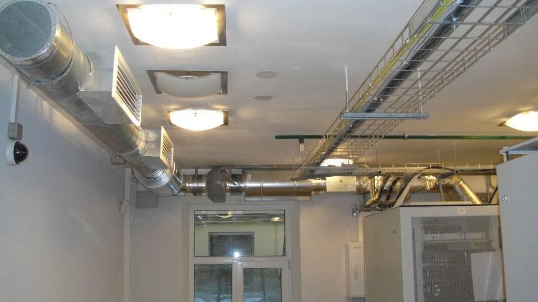 Принцип работы приточной вентиляции с подогревом воздуха
