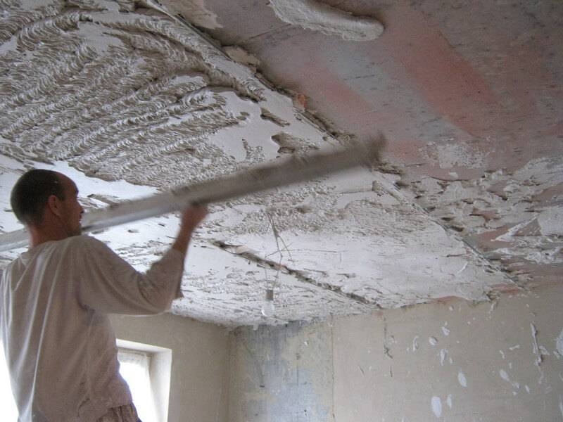 Штукатурка потолков своими руками: как выровнять потолок самостоятельно, возможные варианты
