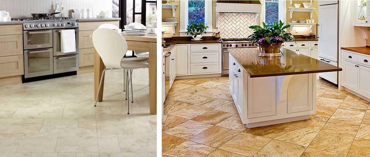 Какой пол лучше выбрать для кухни?