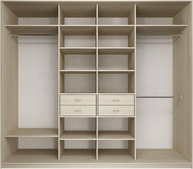 Внутреннее наполнение для шкафов-купе – выбираем внутренности