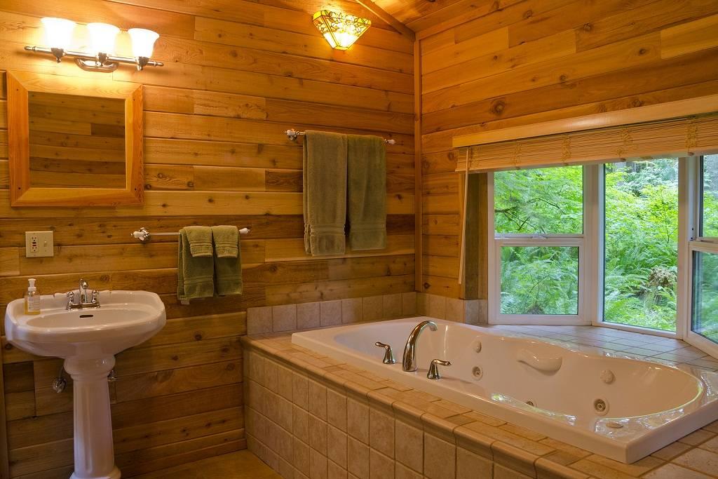 Как обустроить ванную комнату в деревянном доме - самстрой - строительство, дизайн, архитектура.