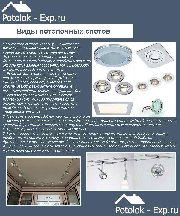 Потолочные квадратные светильники: разновидности и критерии выбора для дома