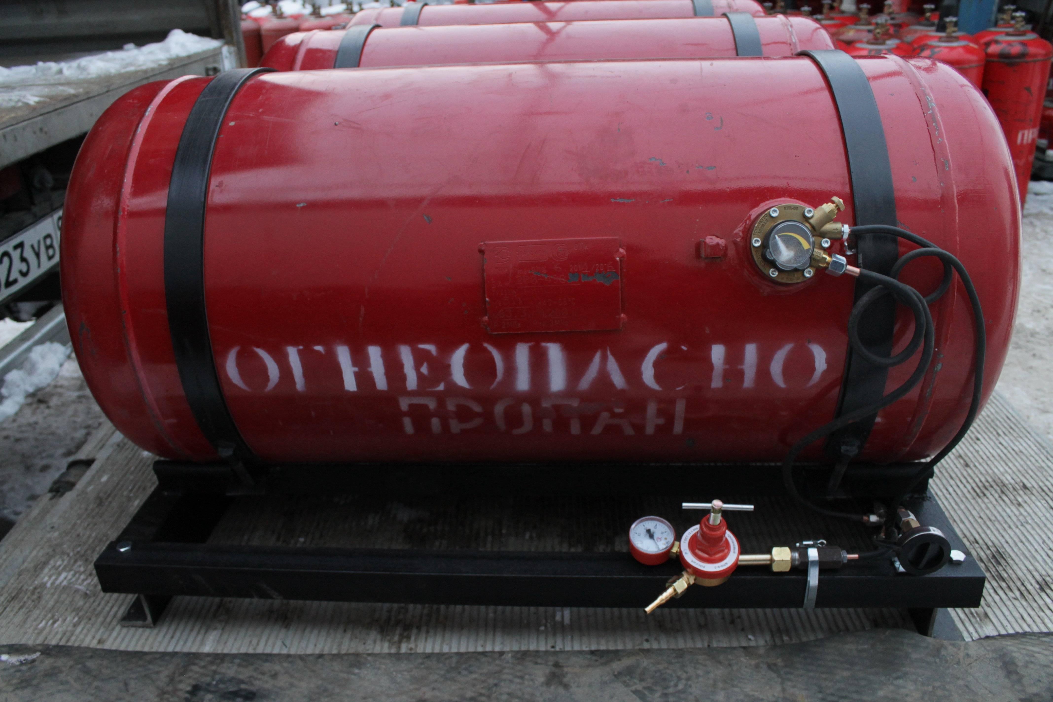 Разновидности газгольдеров: чешские и отечественные модели + италия