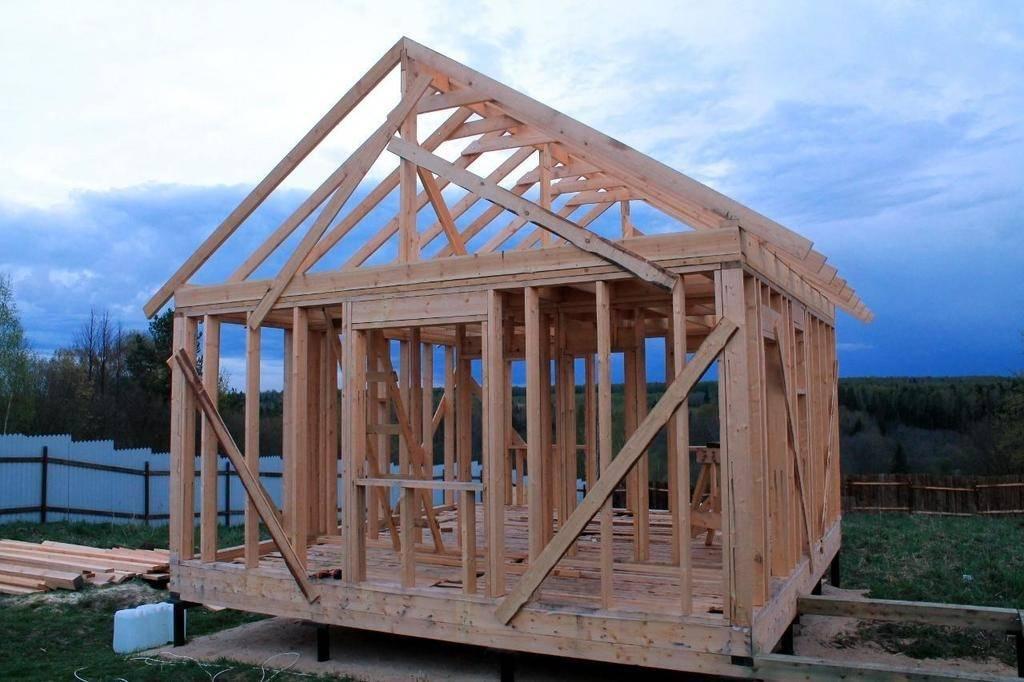 Стены каркасного дома: этапы и технология возведения