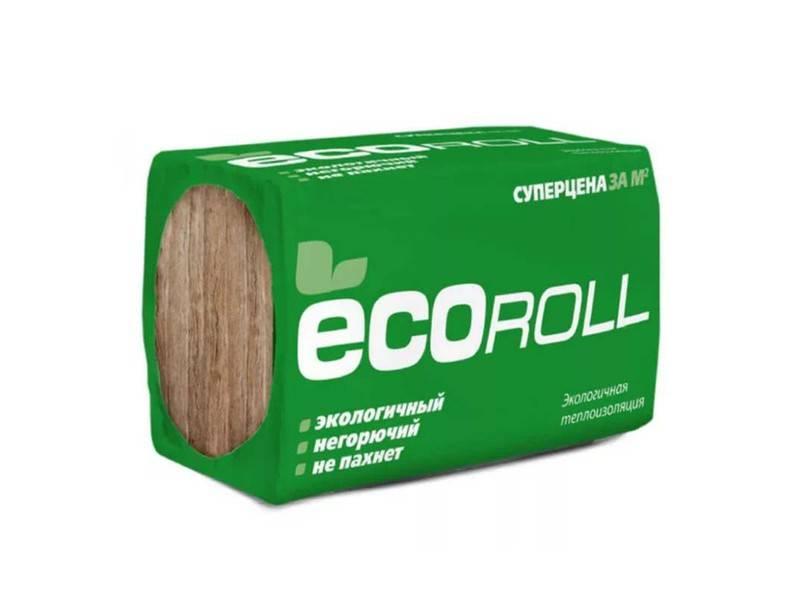 Экоролл теплоизоляция — обзор утеплителя