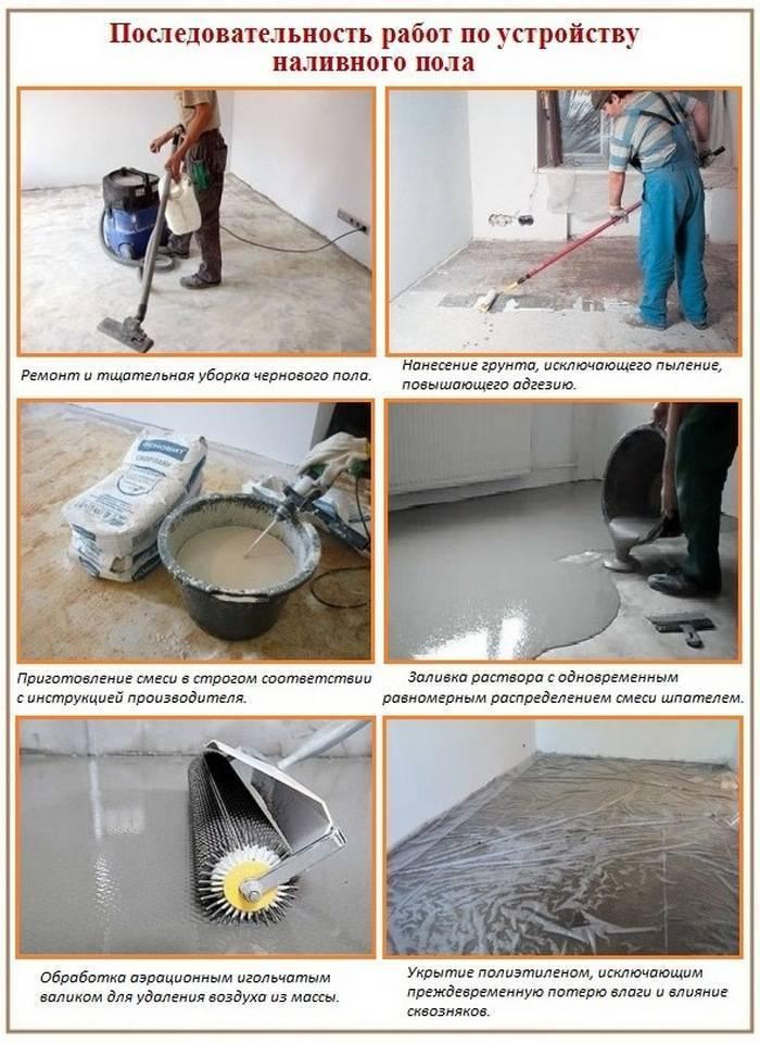 Наливные полы - материалы, инструменты, этапы обустройства!