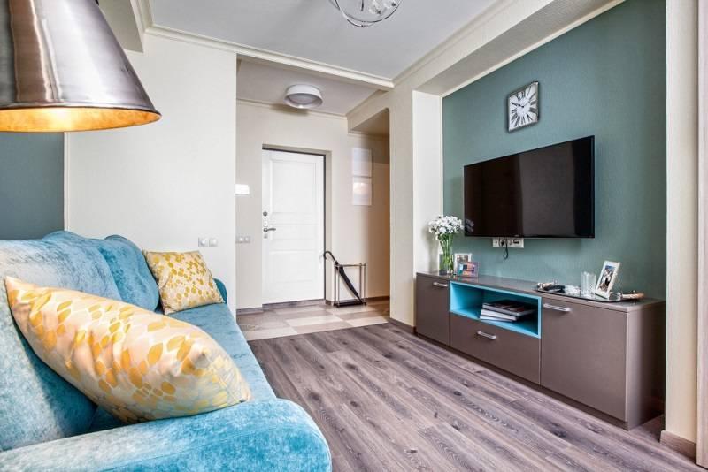 Интерьеры двухкомнатных квартир