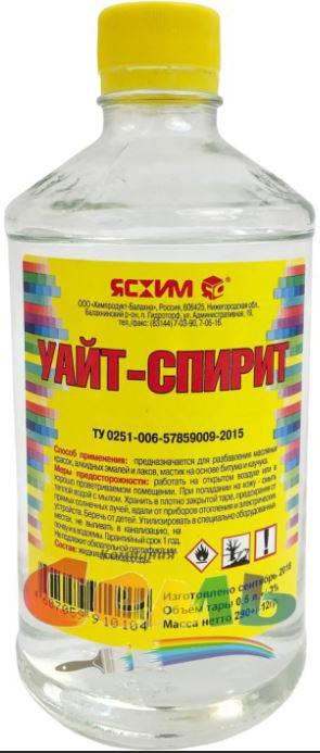 Уайт-спирит – что это такое, состав, свойства + применение